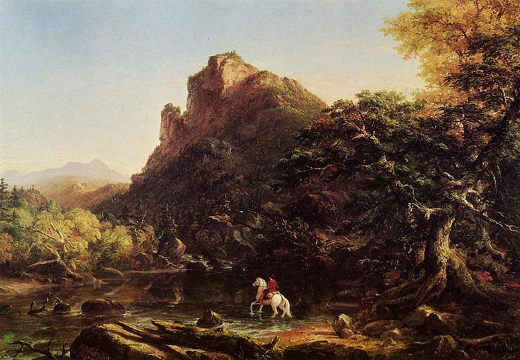 71981bb280 The Voyage of Life Youth, 1842 - Thomas Cole - WikiArt.org