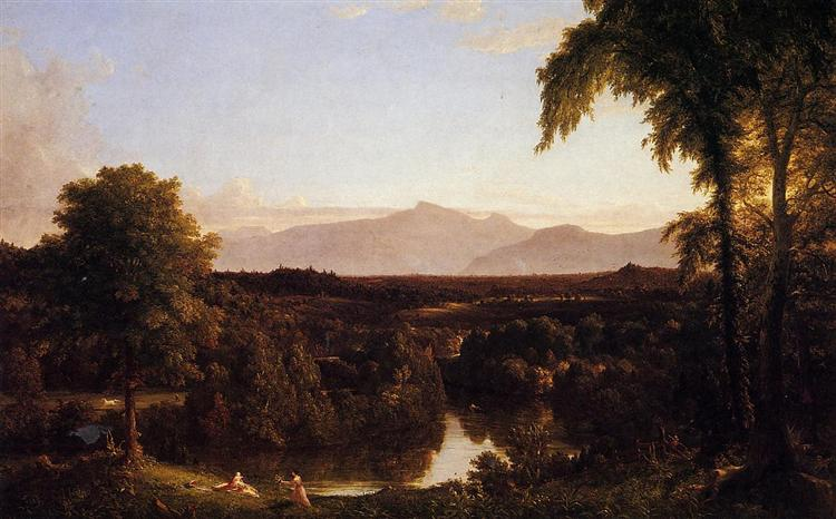 View on the Catskill, Early Autumn, 1837 - Thomas Cole