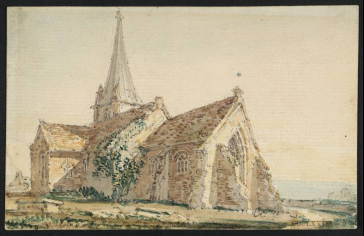 Kidwelly Church, Caermarthenshire, 1797 - Thomas Girtin