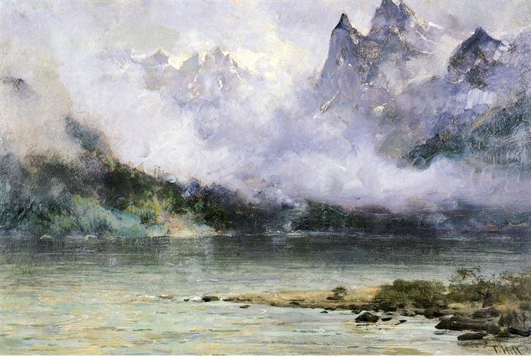 Alaska Scene near Juneau, 1894 - Thomas Hill