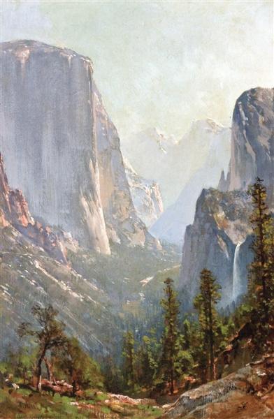 Early Morning, Yosemite Valley - Thomas Hill