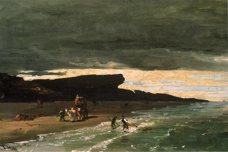 Gathering Sedge, 1875 - Thomas Hill