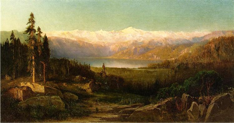 Rocky Mountains, 1869 - Thomas Hill