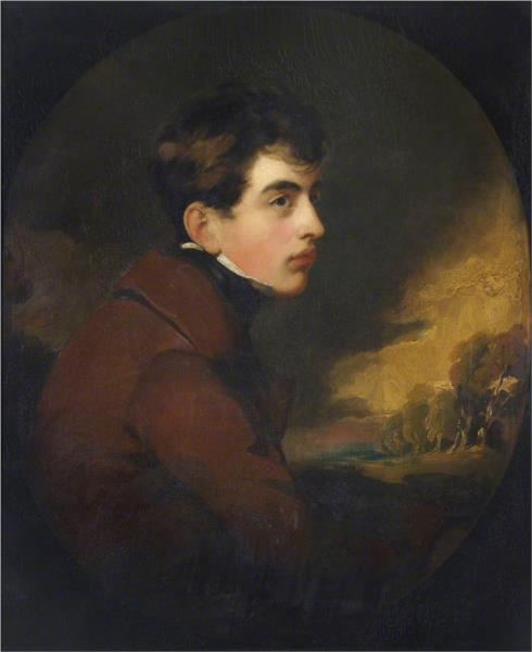 George Gordon Noel, Lord Byron, Poet - Thomas Lawrence