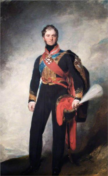 Henry William Paget, 1st Marquess of Anglesey, KG, 1818 - Томас Лоуренс
