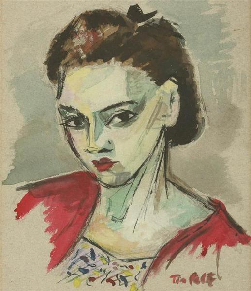 Self-Portrait - Tia Peltz
