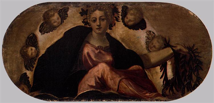 Allegory of Happiness, c.1564 - Tintoretto