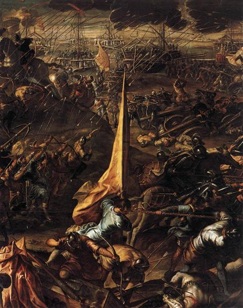Conquest of Zara - Tintoretto