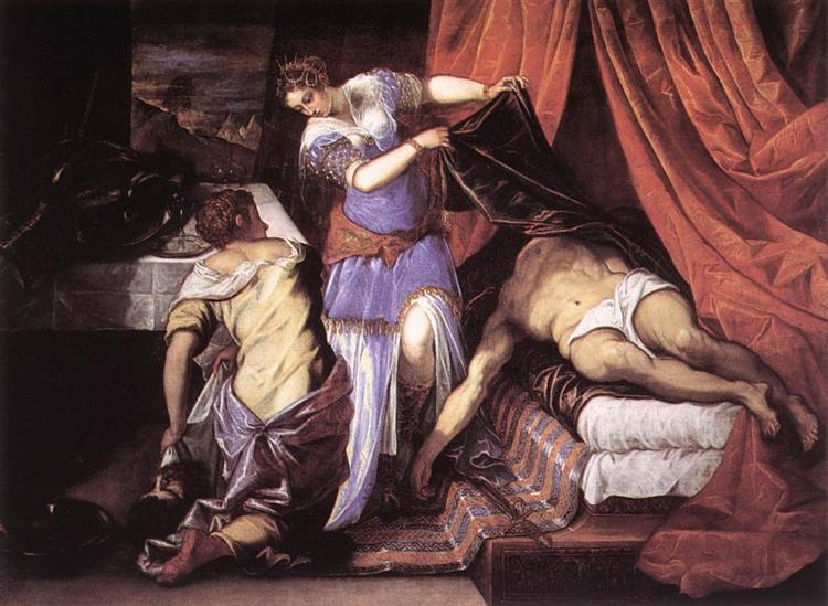 Judith and Holofernes, c.1579 - Tintoretto