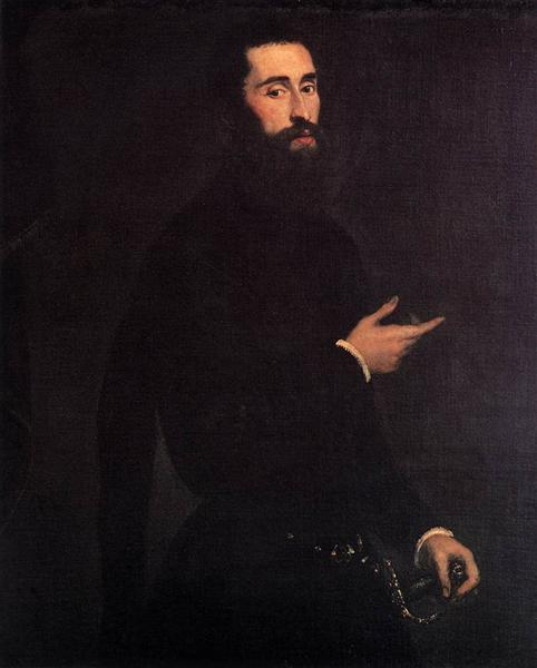 Portrait of a Genoese Nobleman, c.1550 - Tintoretto