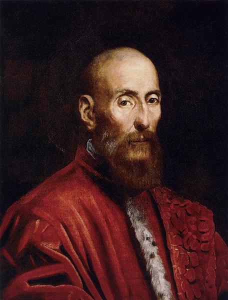 Portrait of a Senator, c.1570 - Tintoretto
