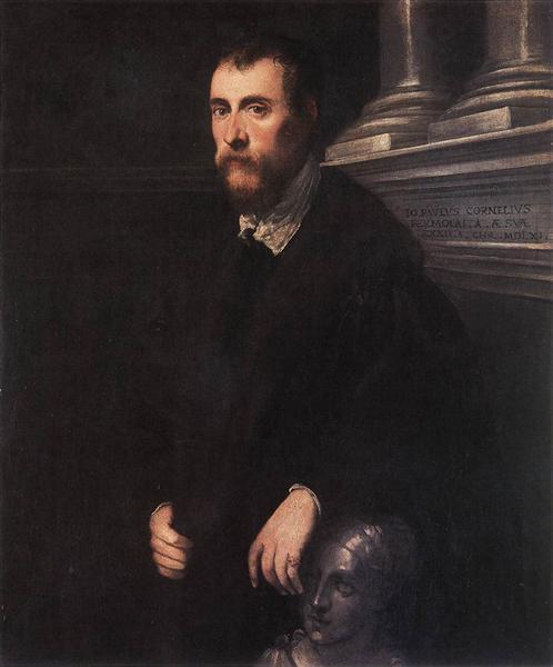 Portrait of Giovanni Paolo Cornaro, 1561 - Tintoretto