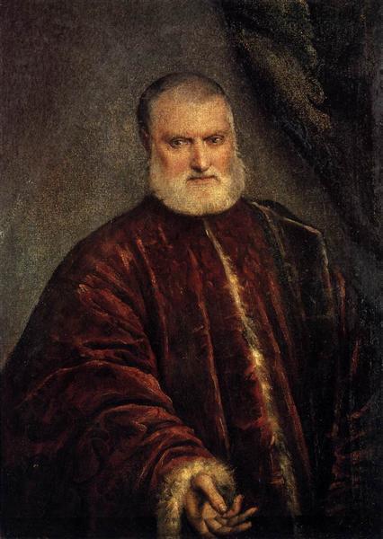 Portrait of Procurator Antonio Cappello, c.1551 - Tintoretto