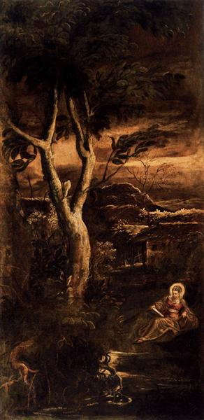St Mary Magdalen, 1582 - 1587 - Tintoretto
