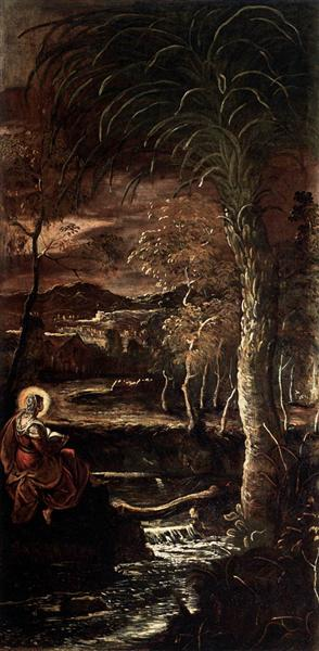 St Mary of Egypt, 1582 - 1587 - Tintoretto