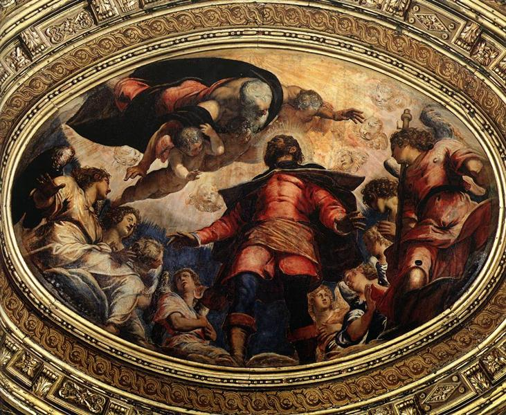 The Apotheosis of St Roch, 1564 - Tintoretto