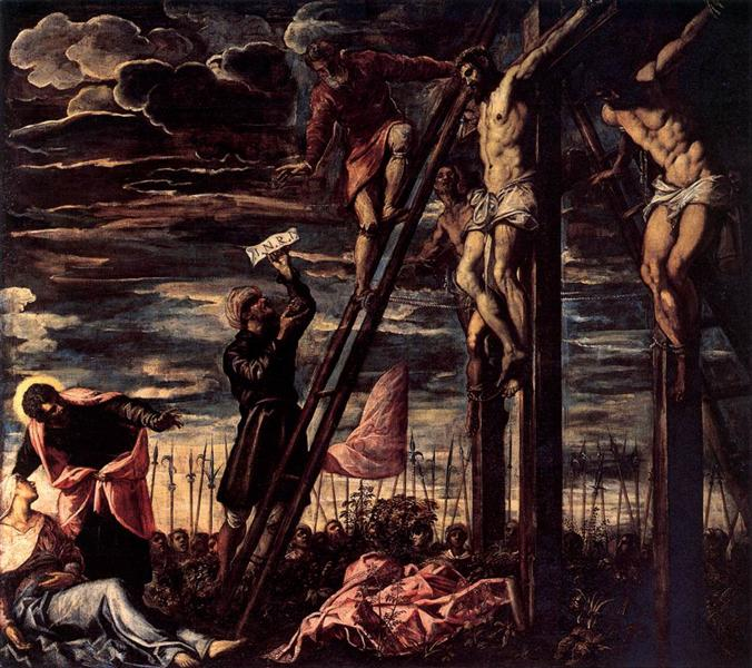 The Crucifixion of Christ, 1568 - Tintoretto