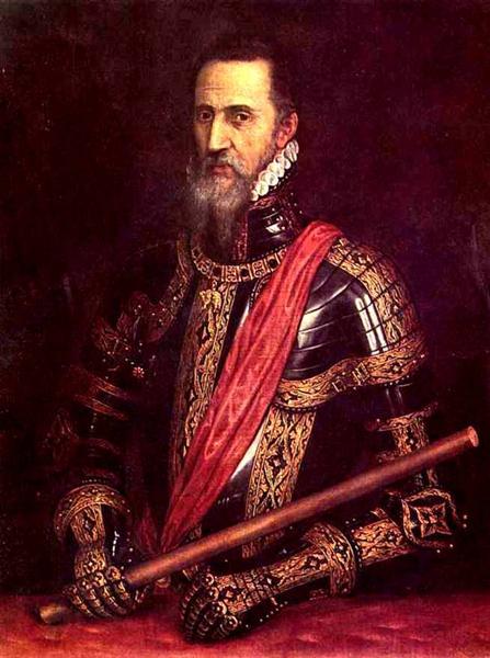 Portrait of Don Fernando Alvarez of Toledo, Grand Duke of Alba, c.1570 - 提香