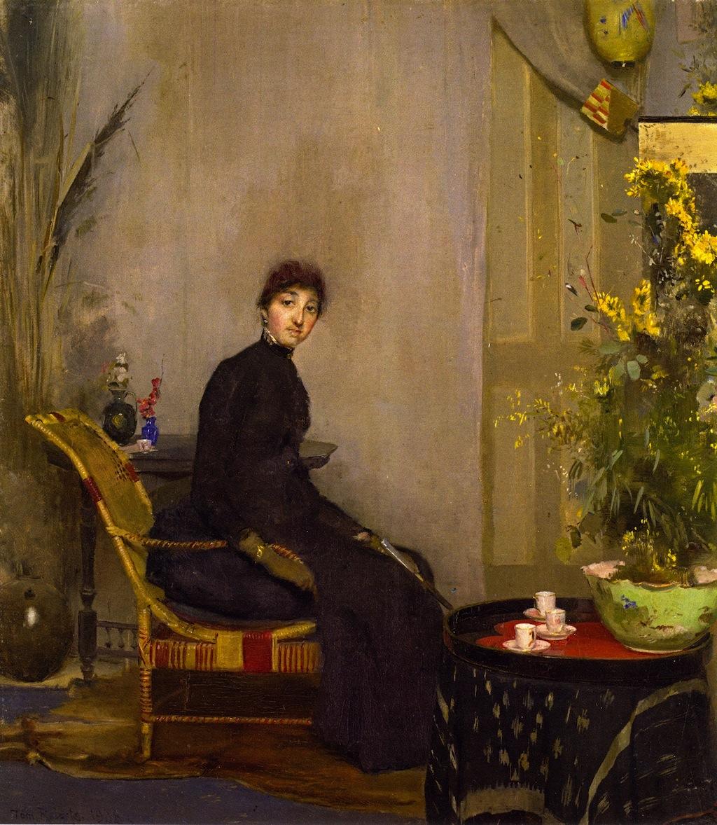 Mrs. L. A. Abrahams, 1888
