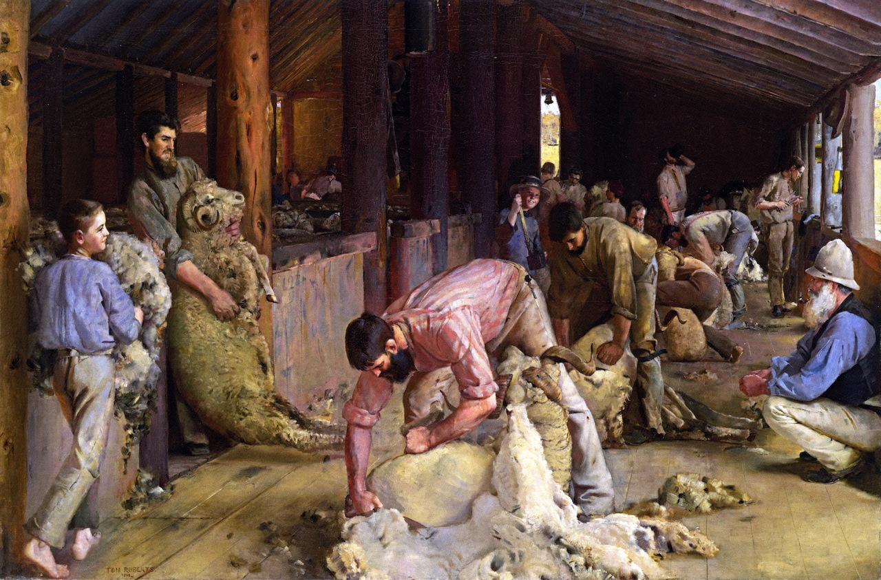 Searing the Rams, 1890