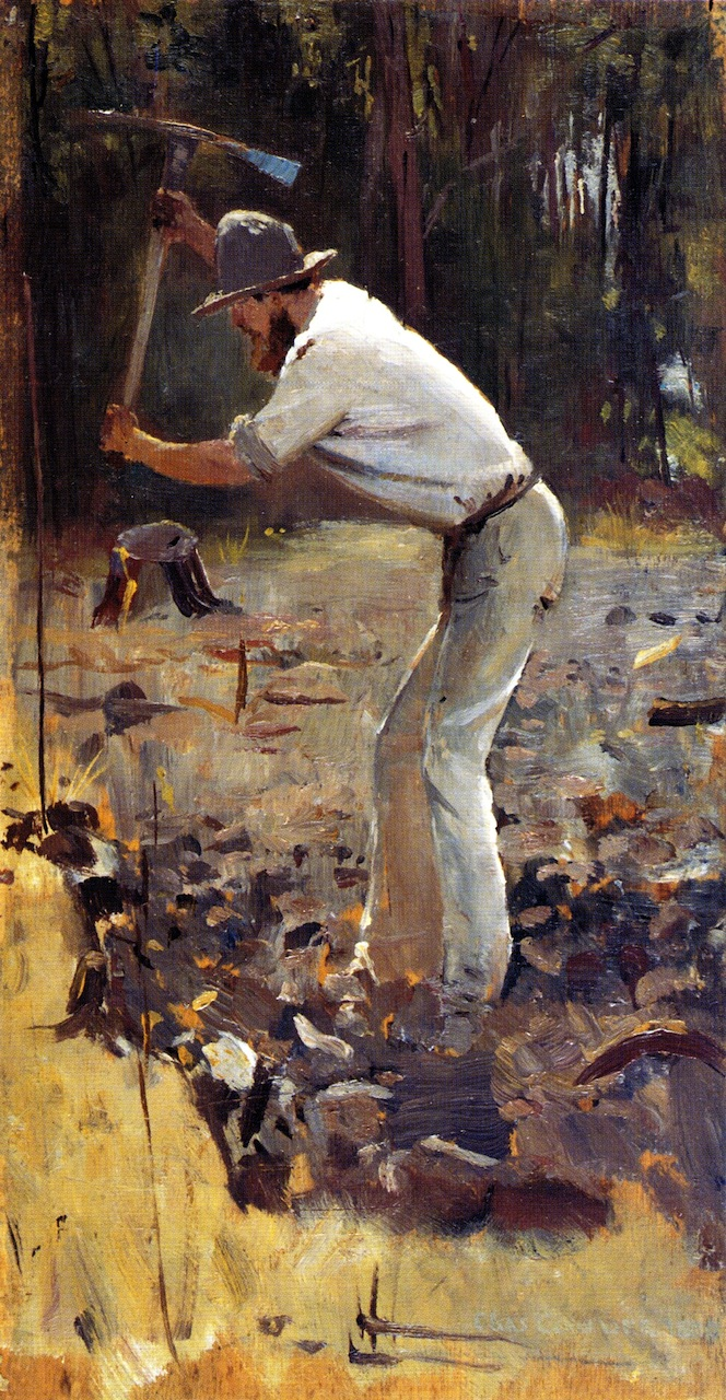 Turning the Soil, 1886