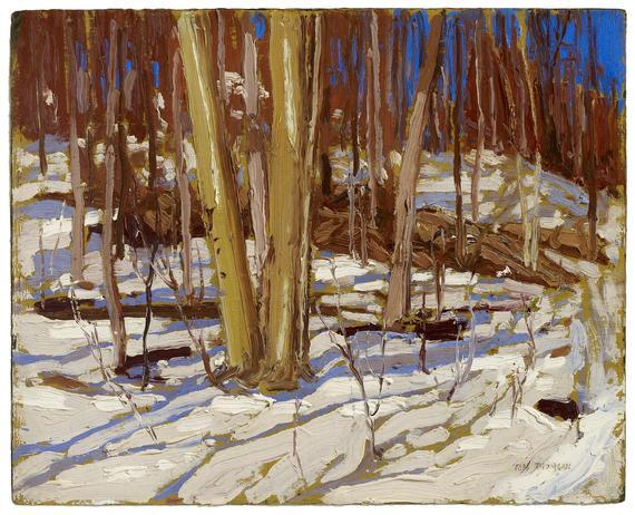 Untitled (Wooden Landscape), 1917 - Tom Thomson
