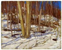 Untitled (Wooden Landscape) - Tom Thomson