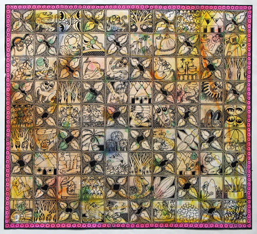Creative Shapes in Obatala's Diary II, 2006 - Twins Seven Seven