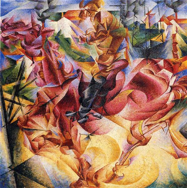 Elasticity, 1912 - Umberto Boccioni