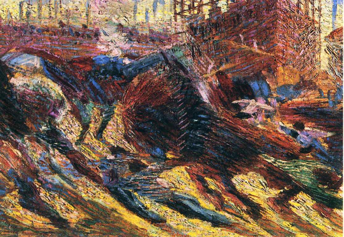 Boccioni Futurism Rises - Umberto Boccioni