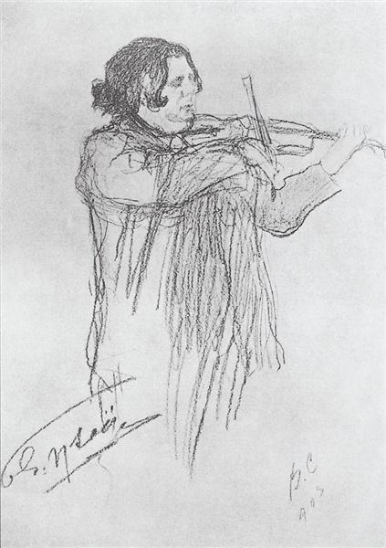 Eugene Ysaye, 1903 - Valentin Serov