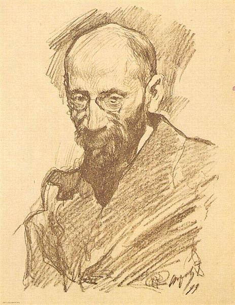Portrait of A.P. Nurok, 1899 - Valentin Serov