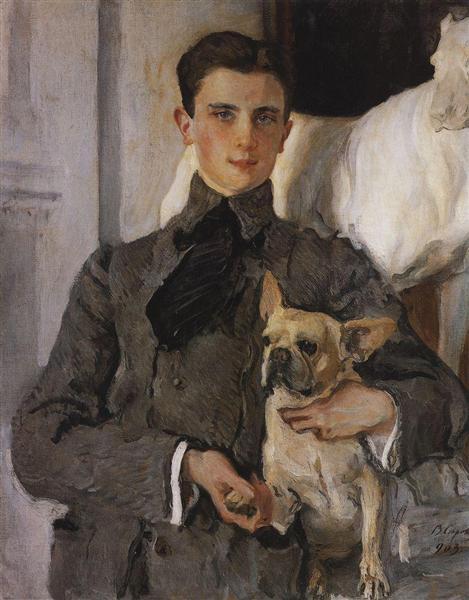 Portrait of Count Feliks Feliksovich Sumarokov-Yelstov later Prince Yusupov, 1903 - Valentin Serov