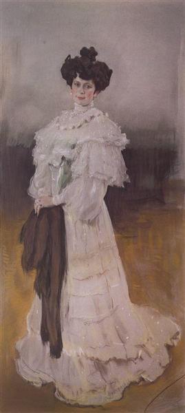 Portrait of E.A. Krasilschikova, 1906 - Valentin Serov