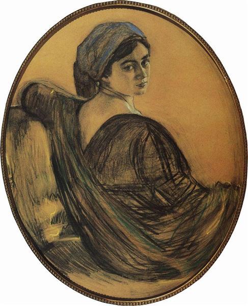 Portrait of Henrietta Girshman, 1911 - Valentin Serov