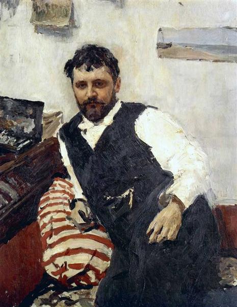 Portrait of Konstantin Korovin, 1891 - Valentin Serov