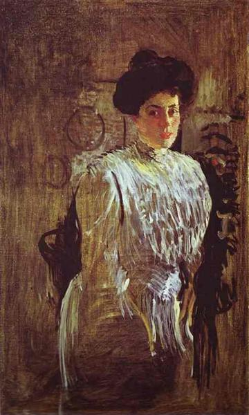 Portrait of Margarita Morozova, 1910 - Valentin Serov