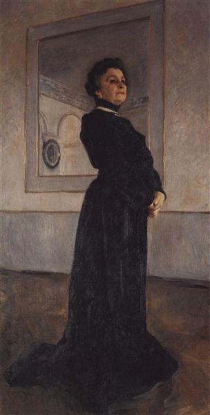 Portrait of Maria Nikolayevna Yermolova, 1905 - Valentin Serov