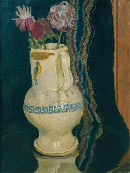 Chrysanthemums, 1920 - Vanessa Bell