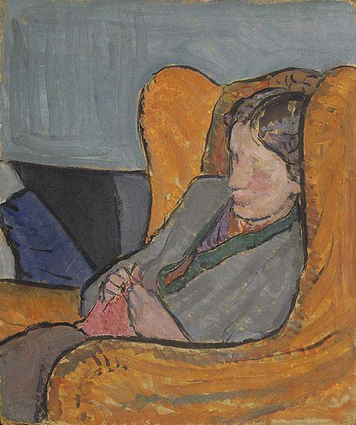 Virginia Woolf, 1912 - Vanessa Bell