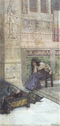 Semiramis and dead Ara the Beautiful - Vardges Sureniants