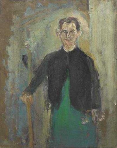 Hotel Worker, 1952 - Varlin