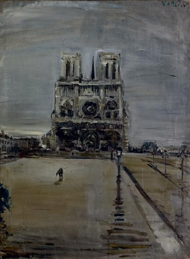 Notre-Dame in Paris, 1954 - Varlin