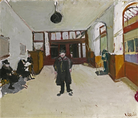 Waiting Room in Ouchy, 1943 - Varlin