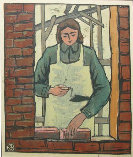Female Brick Mason - Василь Добриан