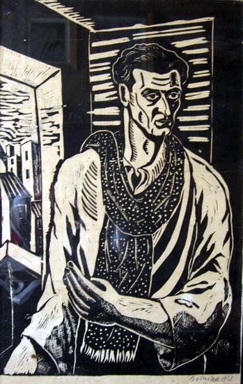 Self-Portrait, 1938 - Vasile Dobrian