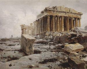 Parthenon. Temple of Athena Parthénos. - Vasily Polenov