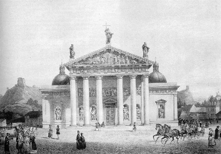 Vilnius Cathedral, Lithuania, 1854 - Vasily Sadovnikov