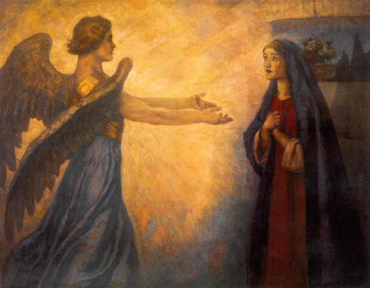 Annunciation, 1914 - Vasily Surikov