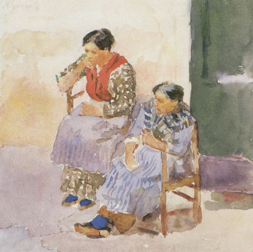 Italian women, 1884 - Vasily Surikov